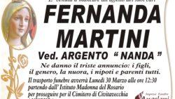 NECROLOGIO MARTINI